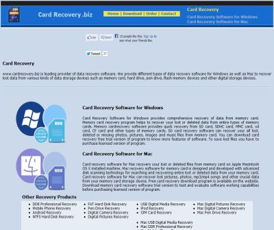 download free card recovery