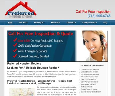 Preferred Houston Roofers