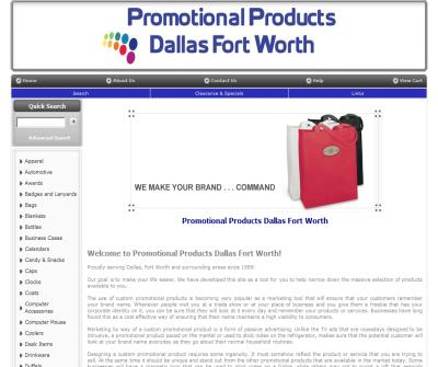 Promotional Products Dallas Fort Worth