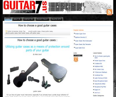 GuitarStore7.us : Buying Guide Guitar Musical Instrument, Amplifiers and Accessories
