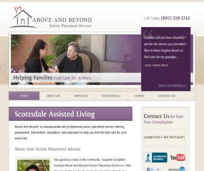 Above and Beyond Senior Placement Services