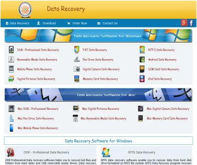 Freeware data recovery