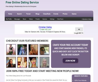 Free Online Dating & Relationship