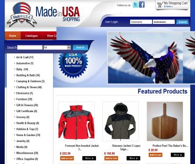 Welcome to Madeinusa-Shopping