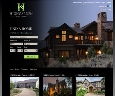 Highgarden Real Estate Denver