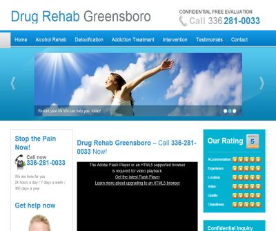 Drug Rehab Greensboro NC