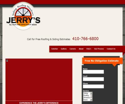 Jerry's Siding and Roofing