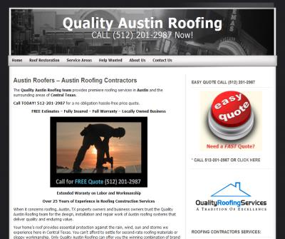 Quality Austin Roofing Services