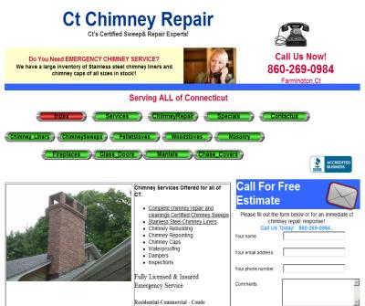 CT Chimney Repair