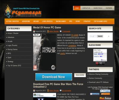 Download Latest PC Games 2012