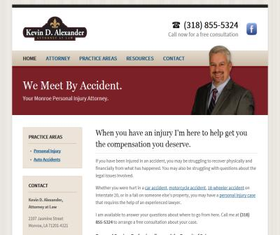 Bastrop LA Personal Injury Lawyer