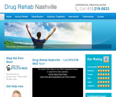 Drug Rehab Nashville TN