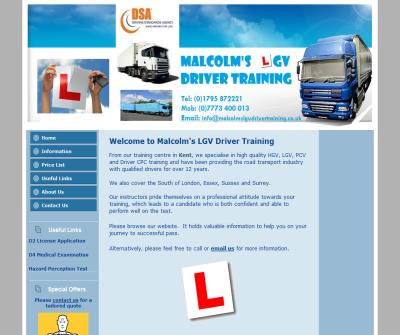 lgv driving teaching kent