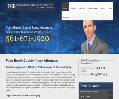 Palm Beach County Personal Injury Attorney