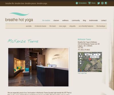 Breathe Hot Yoga & Wellness
