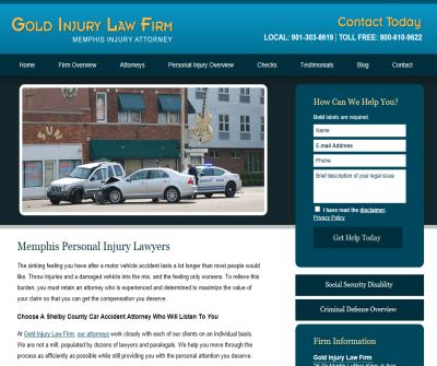 Gold Injury Law Firm