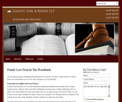 Family Law The Woodlands Lawyer