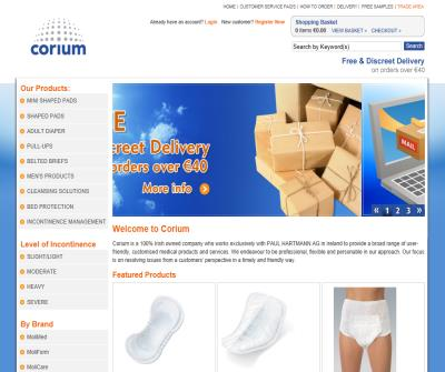 Corium Direct - Incontinence Pads