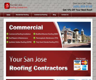 Your San Jose Roofing Contractors