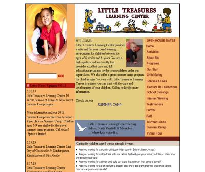 Little Treasures Learning Center