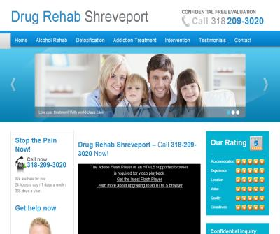 Drug Rehab Shreveport LA