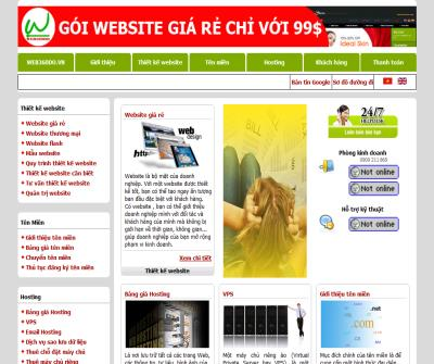 Thiet ke web, domain, hosting