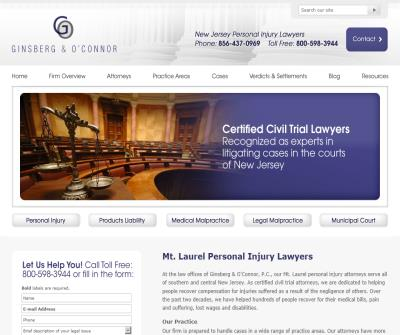 burlington county personal injury lawyer