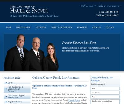 Birmingham MI Divorce Lawyer