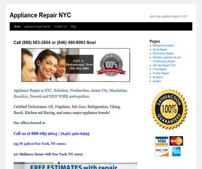 Appliance Repair NYC