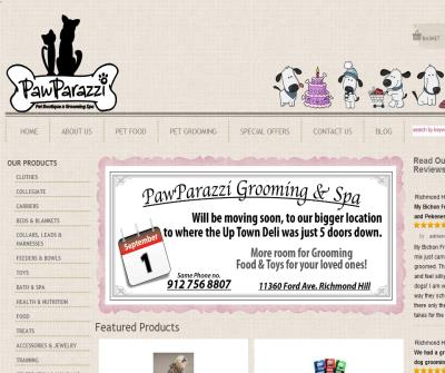 Pet Grooming Richmond Hill GA by PawParazzi Pet Boutique