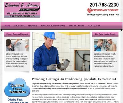 EJ Adams Plumbing & Heating