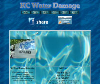 kc water damage