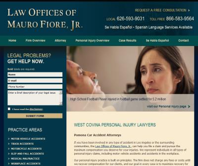 Car Accident Lawyer West Covina CA