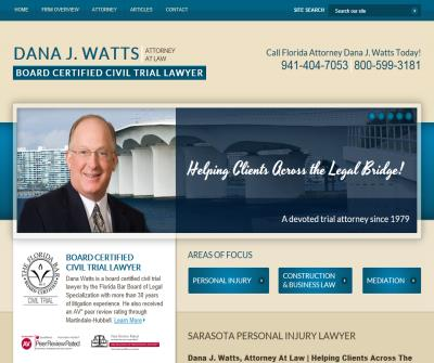 Sarasota Personal Injury Compensation Attorney