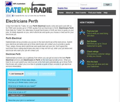 Ratemytradie - Perth Electrical