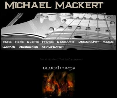 Michael Mackert - Guitarist for Heavy Metal band Blood Corps.