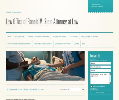 Law Office of Ronald M. Stein Attorney at Law