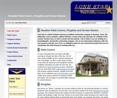 Lone Star Patio Builders, LLC.