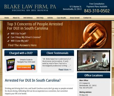 Florence SC DUI Attorney