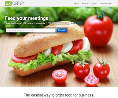 ez cater: community marketplace for catering services