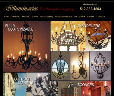 Wrought Iron Lighting - Wrought Iron Chandeliers - Sconces, Fixtures, Pot Racks & More!