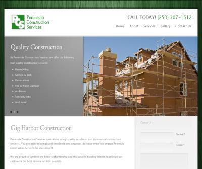 Peninsula Construction Services
