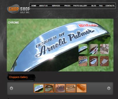 Golf Shop offering Golf Club Repair & Refinishing-ChopShopGolf, Michigan