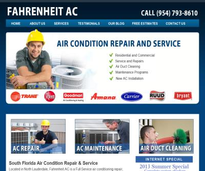 Fahrenheit AC - Ft Lauderdale HVAC Service and Repair