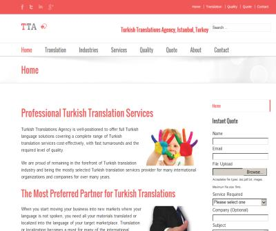 Turkish Translations Agency, Istanbul, Turkey