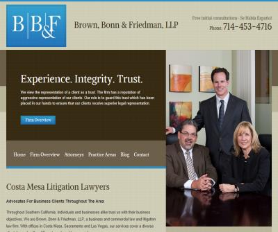 Irvine CA Business Law Lawyer