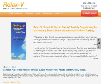 Relax-V: Herbal Remedy