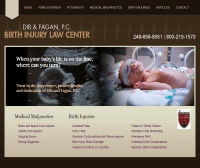 Detroit Birth Injury & Medical Malpractice Attorney