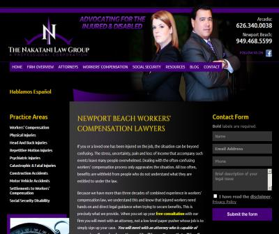 Newport Beach Workers' Compensation Lawyers