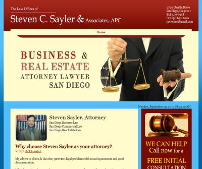 Real Estate Attorney - Business Attorney - Corporate Lawyer - Construction Attorney - Litigation
